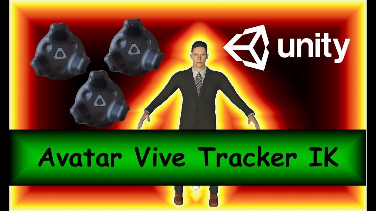 Unity3d Final IK with VIVE Trackers for Motion Capture