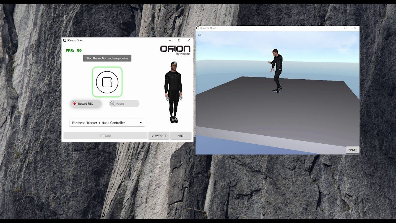 IKINEMA Orion Premium Motion Capture for VIVE Trackers