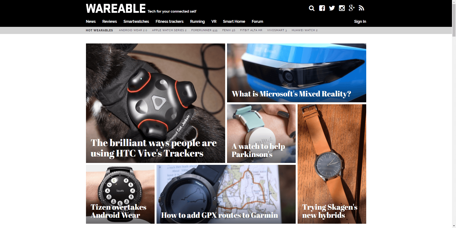 Rebuff Reality featured in wareable.com news article