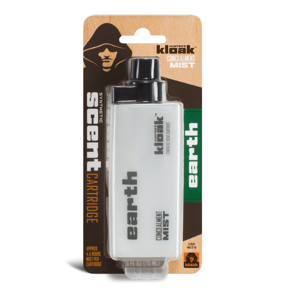 Hunter's Kloak® Earth Concealment Scent - Hunter's Kloak
