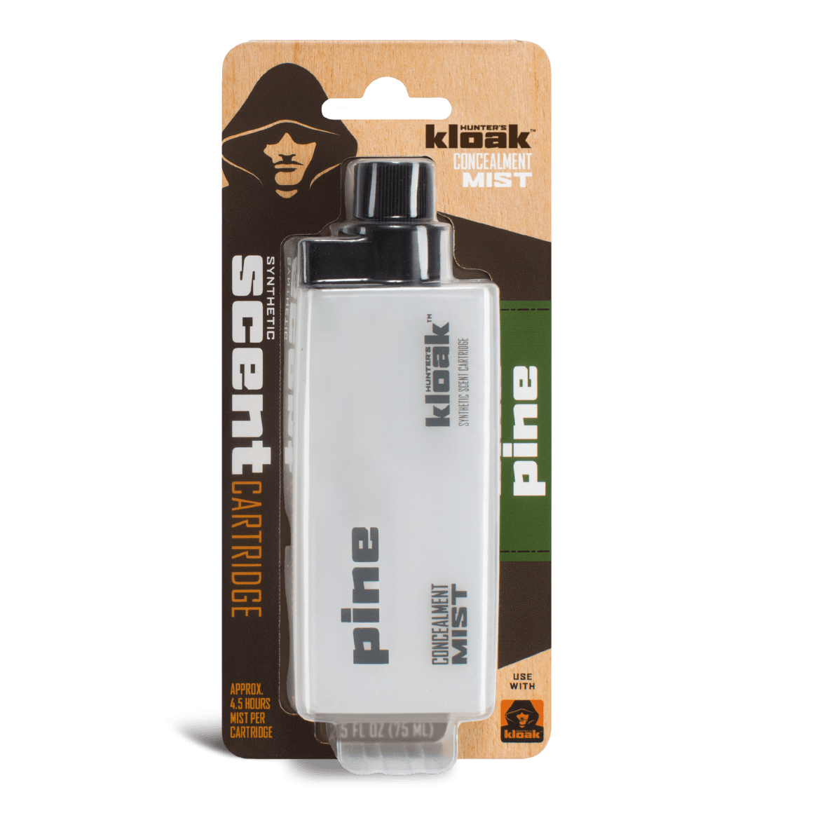 Hunter's Kloak® Pine Concealment Scent - Hunter's Kloak