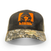 Hunter's Kloak® Brown & Blaze Mesh Realtree Edge™ hat - Hunter's Kloak