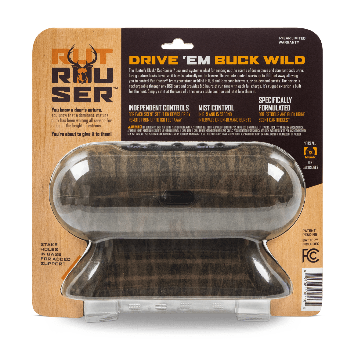 Hunter's Kloak® Rut Rouser® Dual Mister - Hunter's Kloak