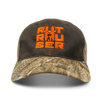Rut Rouser™ Brown & Blaze Mesh Realtree Edge™ Hat - Hunter's Kloak