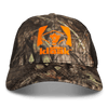 Mossy Oak Camo & Black Adjustable Cap - Hunter's Kloak