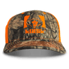 Mossy Oak Camo & Blaze Adjustable Cap - Hunter's Kloak