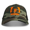 Old School Camo & Black Adjustable Cap - Hunter's Kloak