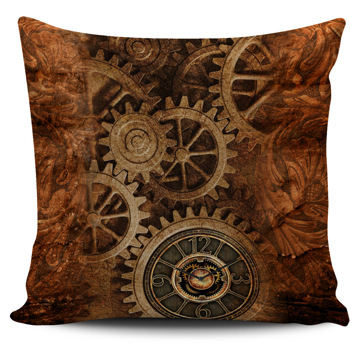 Steampunk Pillow Case
