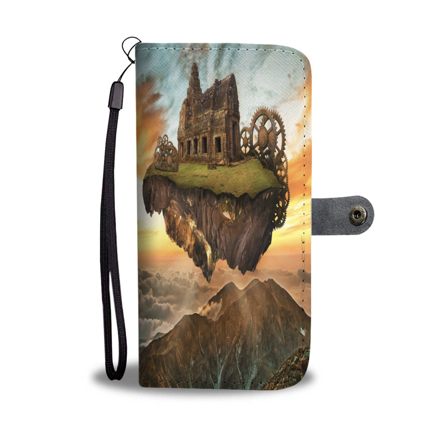 Steampunk House Design Phone Case - Available On Most Phones