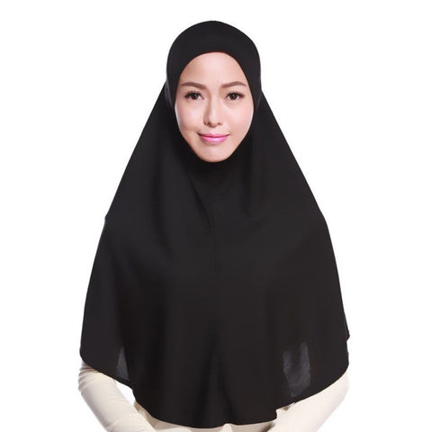 Modest Muslim Instant Slip-On Hijab