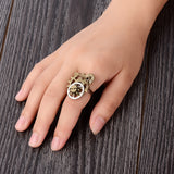 FREE Vintage Steampunk Resizable Ring - Gears Design