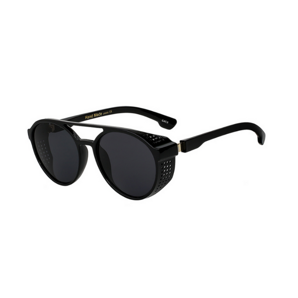 EDGAR - Steampunk Unisex Sunglasses With Side Shields