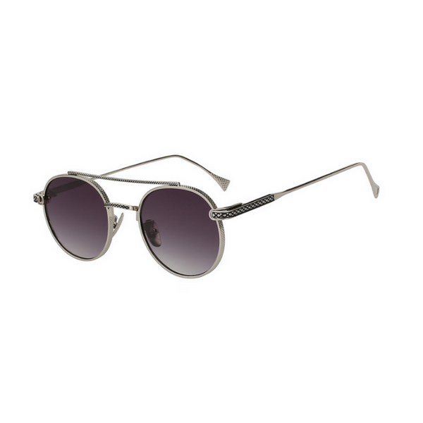 LINCOLN - Retro Sunglasses With Unique Side Frame