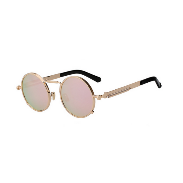 HUGH - Retro Round Sunglasses