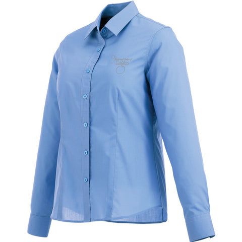 Blue Ladies' Preston Long Sleeve Shirt