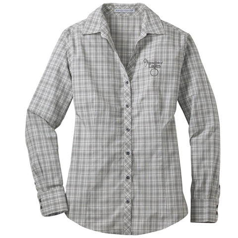 Ladies' Button Down Dress Shirt
