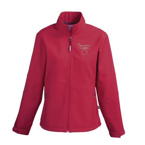 Red Ladies Arden Fleece Jacket