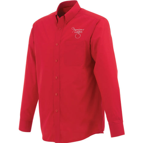 Red Men's Preston Long Sleeve Shirt