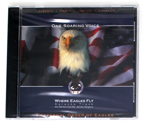 Where Eagles Fly Karaoke CD