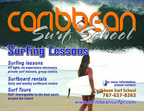 Puerto Rico Surf Lessons
