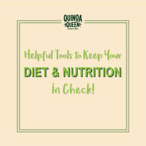 helpful tools to keep your diet and nutrition in check