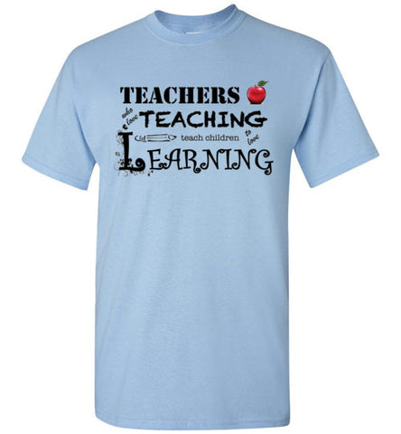 Teachers Who Love Teaching