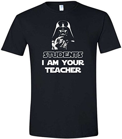 Amazon.com: Movie Tees Students I am Your Teacher Funny Parody Shirt: Clothing