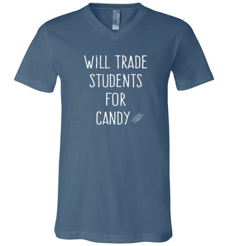 Will trade students for candy