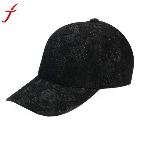 New fashion Adjustable Unisex Baseball Cap - Lace Stars