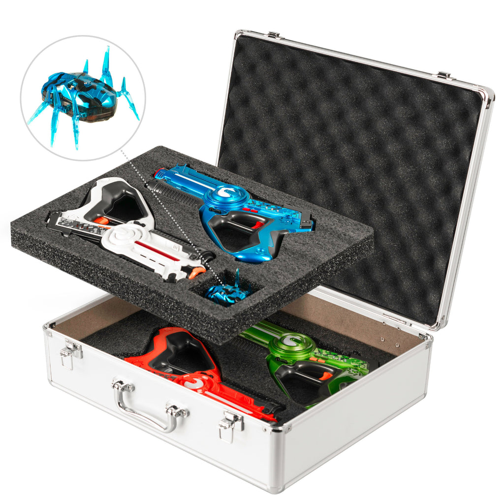 Premium Laser Tag Gun Set with Beetle Bug