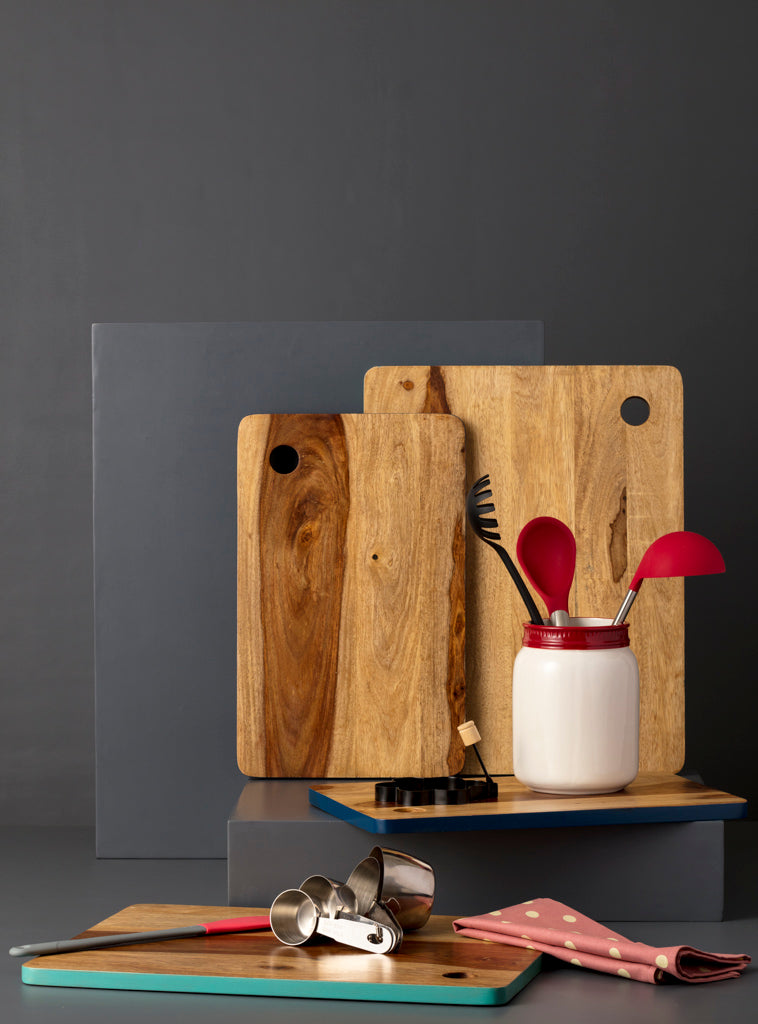 BATES CHOPPING BOARDS - BLUE - Studio Kiklee By Simrat Kohli