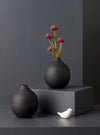 vase,home,decor,grey,round,metal,studiokiklee