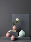 vase,home,decor,salmon,mauve,pink,round,metal,studio,kiklee