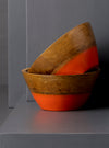 CLARA SNACK BOWL - ORANGE - Studio Kiklee By Simrat Kohli