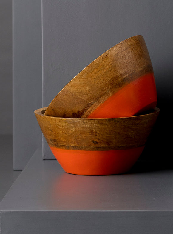 CLARA SNACK BOWL - ORANGE