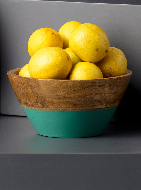 CLARA SNACK BOWL - SEA GREEN - Studio Kiklee By Simrat Kohli