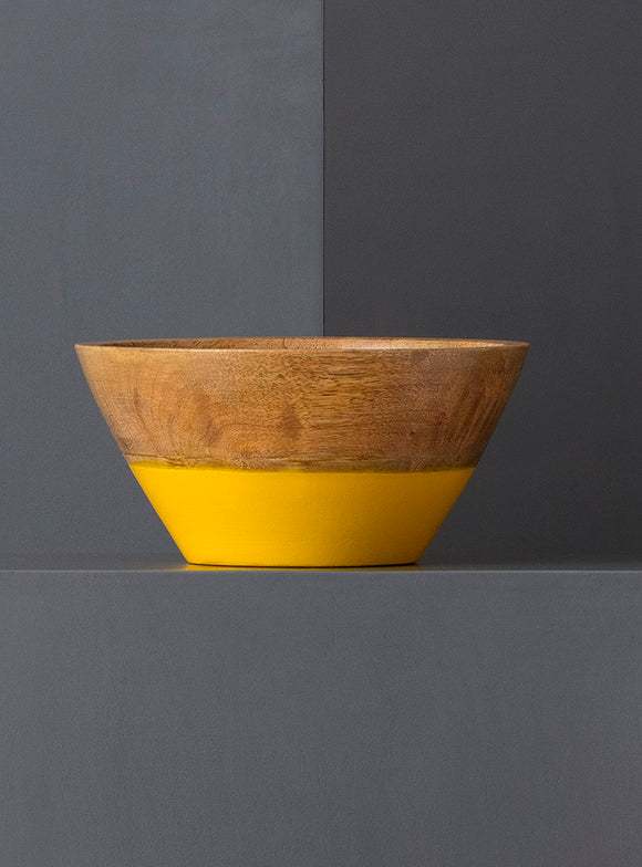 CLARA SNACK BOWL - YELLOW