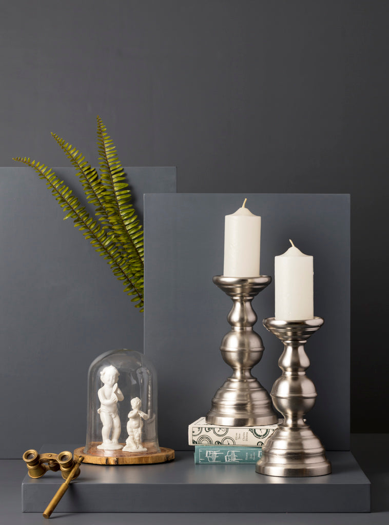 ERNEST CANDLE STAND - SMALL - Studio Kiklee By Simrat Kohli