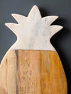 CHEESE, BOARD, PLATTER, SERVEWARE, MARBLE, SERVING PLATE, CHOPPING BOARD, PINEAPPLE