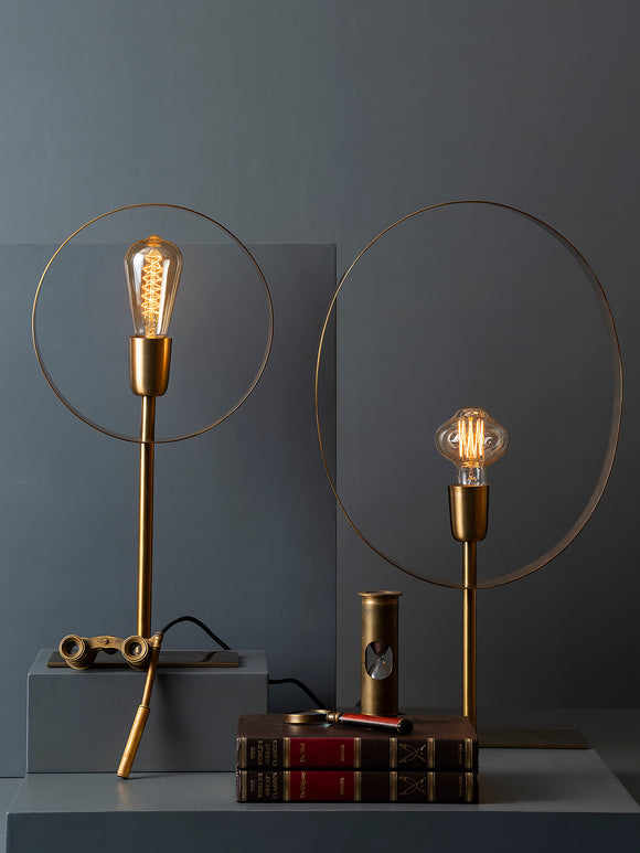 JOEY TABLE LAMP - ROUND - Studio Kiklee By Simrat Kohli