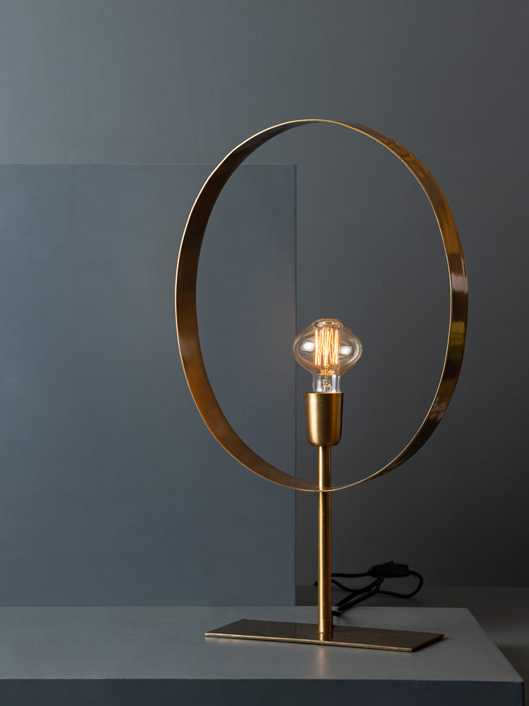 ALEX TABLE LAMP - OVAL - Studio Kiklee By Simrat Kohli
