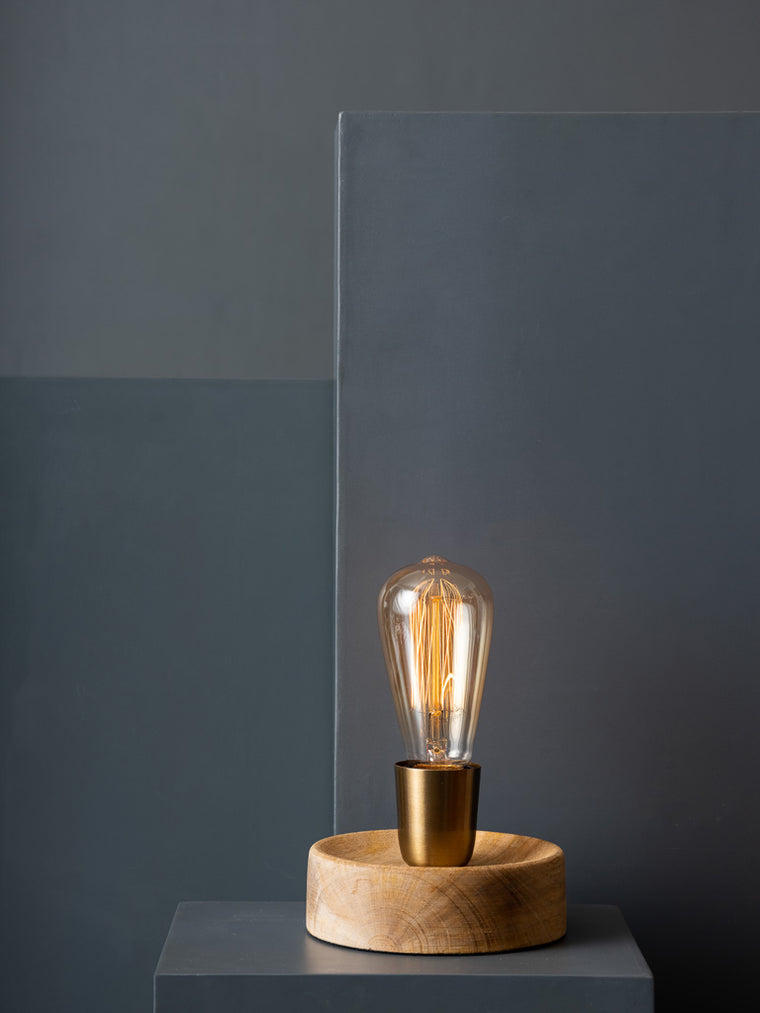 JOHN TABLE LAMP - Studio Kiklee By Simrat Kohli