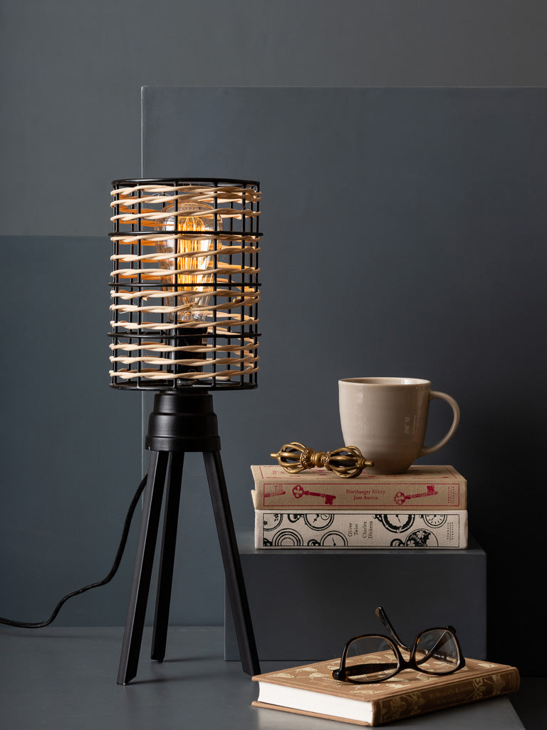 ROSS TABLE LAMP - Studio Kiklee By Simrat Kohli