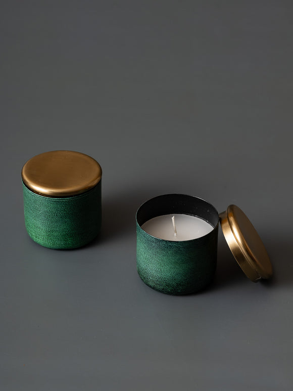CHESTER CANDLE JAR - SMALL - Studio Kiklee By Simrat Kohli