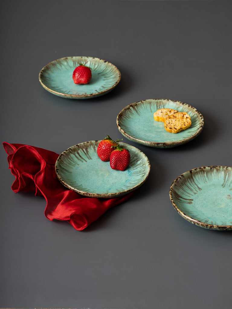 ceramic platter, ceramic, plates, tray, home, decor, fruit plate, cake plate