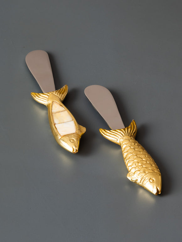 FISH SPREADERS - SET OF 2 - Studio Kiklee By Simrat Kohli