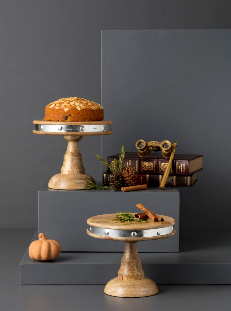 MARWOOD CAKE STAND - SMALL