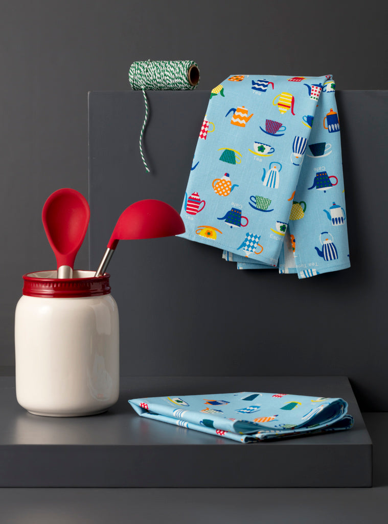 PETER KITCHEN TOWEL - Studio Kiklee By Simrat Kohli