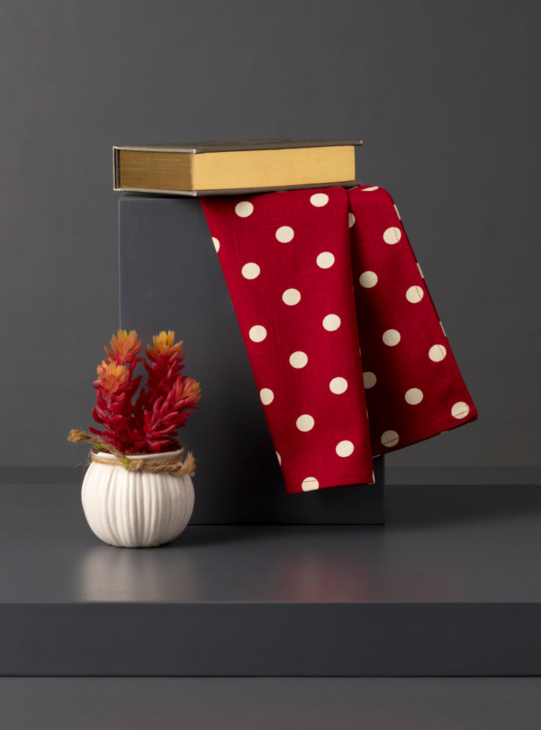 ROSE KITCHEN TOWEL - Studio Kiklee By Simrat Kohli