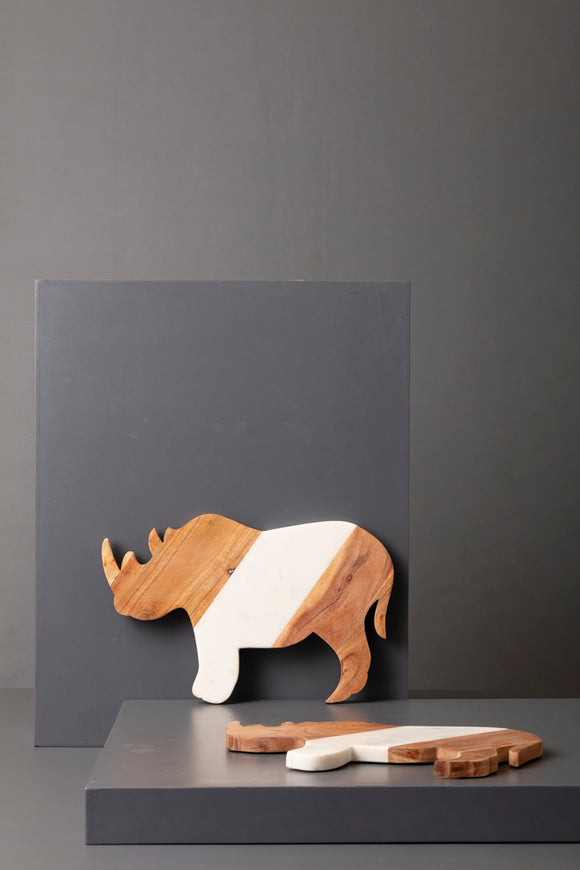 RHINO CHEESE BOARD - Studio Kiklee By Simrat Kohli